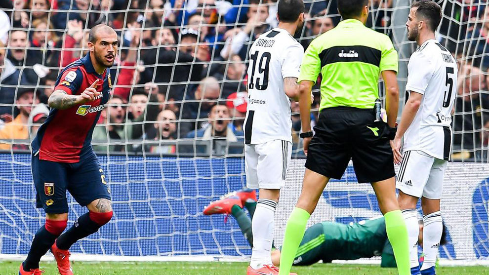 Ronaldo rested as Genoa inflict Juve's first Serie A defeat