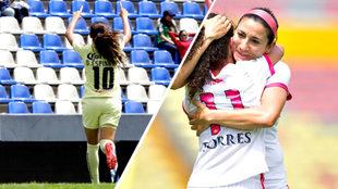 América y Morelia se imponen en la jornada del domingo.