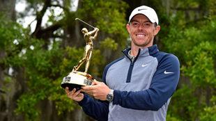 McIlroy se quedó con el trofeo