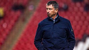 Siboldi sufrió un descenso como jugador y ahora como técnico