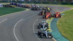 Bottas, delante de Hamilton y detrás el cerrojazo de Vettel a...