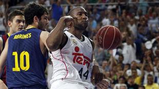 Marcus Slaughter durante la final de la ACB en 2015