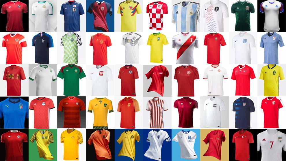 El ránking definitivo de las camisetas más bonitas del mundo