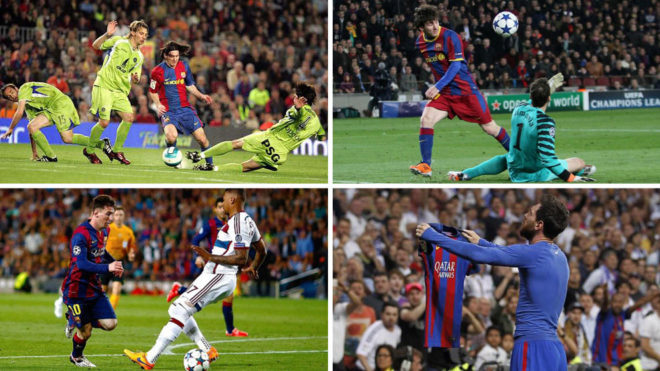 Los 15 golazos más alucinantes de Messi en toda su carrera: ¿con cuál te quedas?