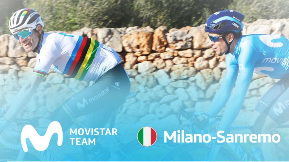 Valverde y Landa en una imagen del equipo.