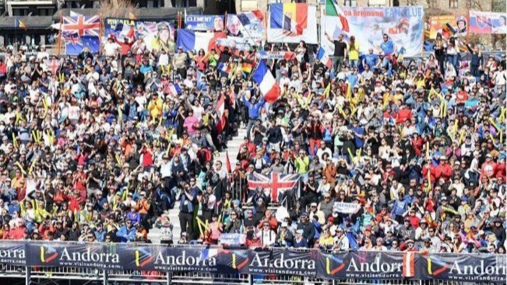 Andorra ovaciona las finales de la Copa del Mundo de esquí alpino 63b43c66b6fad