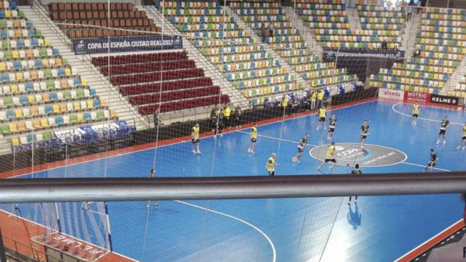 El Quijote Arena, sede de la Final Four de la Copa del Rey.