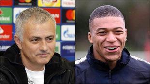 Mourinho y Mbappé.