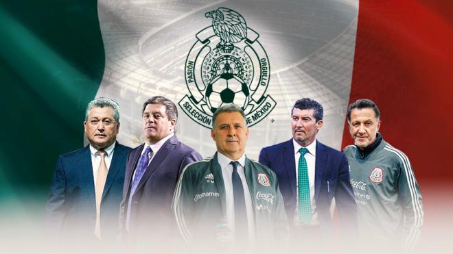Martino debutará al frente de la selección mexicana este viernes...