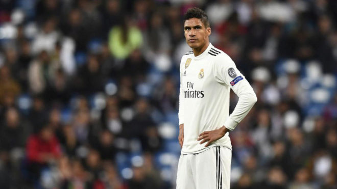 Varane is a wanted man.