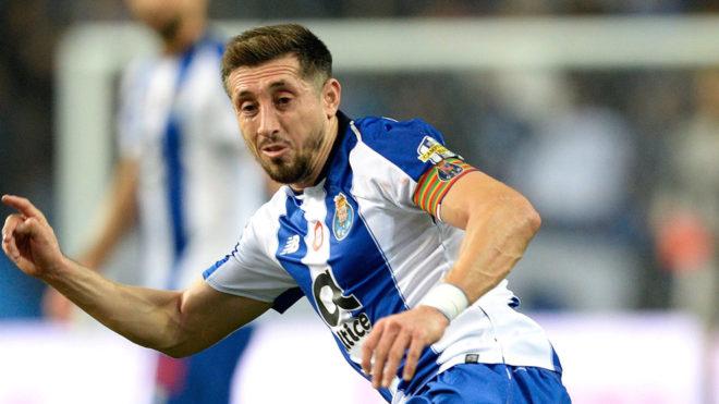 Héctor Herrera, con el Porto