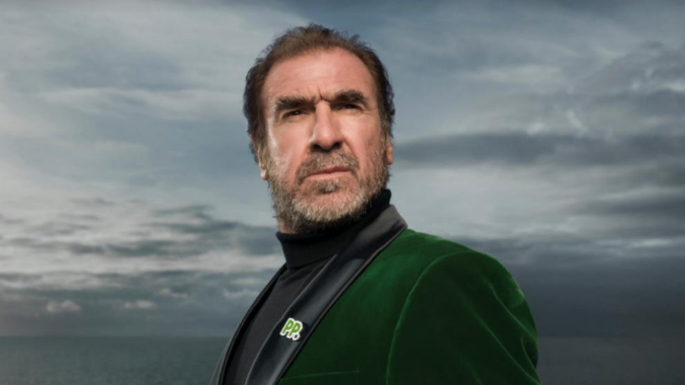 Cantona, en la campaña de Paddy Power.