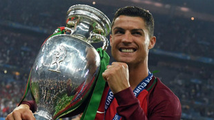 La Eurocopa 2016, ganada por Portugal, en manos de Cristiano Ronaldo