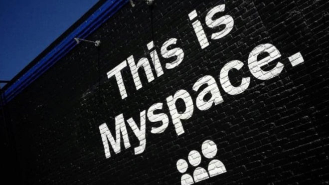 MySpace pierde más de una década de música por problemas técnicos