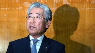Tsunekazu Takeda comparece ante los medios