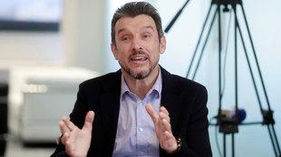 Juan Carlos Unzué, exentrenador del Celta,  en una entrevista.