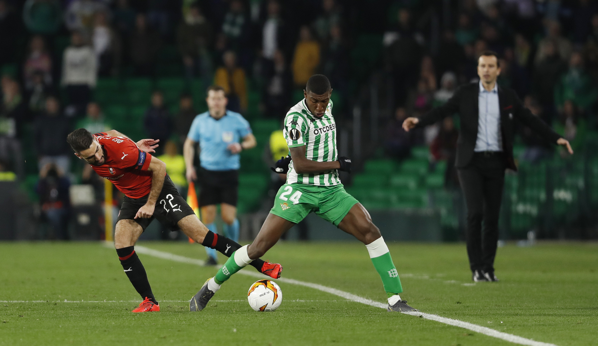 <HIT>BETIS</HIT>-RENNES, EUROPA LEAGUE