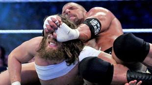Triple H vs. Daniel Bryan en WrestleMania 30.