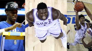 Barrett, Zion y Reddish, el trío de Duke