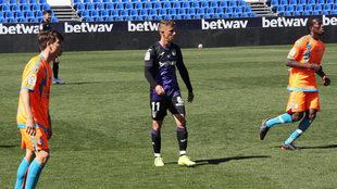 Szymanowski, en el partido contra el Rayo Majadahonda.