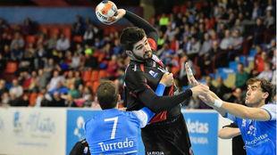 Imanol Garciandia ante el Atl. Valladolid /