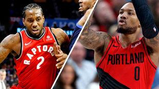 Raptors y Blazers brillan en una emocionante jornada de la NBA.