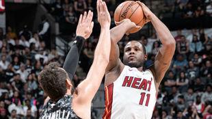 Dion Waiters fue uno de los destacados en los Heat