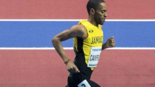 Campbell, en carrera