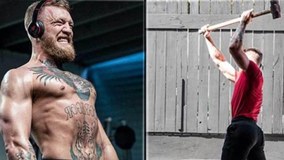 Conor McGregor mola mazo y se pone en plan Rocky Balboa