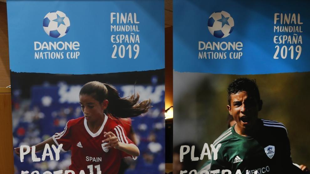 Cartel de la Copa Danone