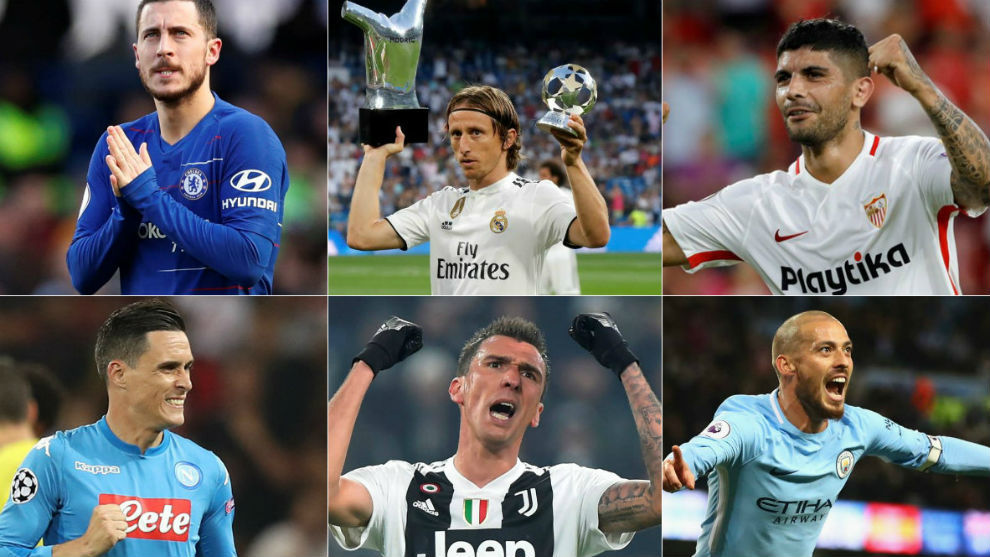 These 25 elite players all have their contracts coming to an end in June 2020, so could be available for a cheaper price in this summer's transfer window.