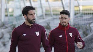 Raúl García y Aduriz no tomaron parte en el encuentro amistoso...