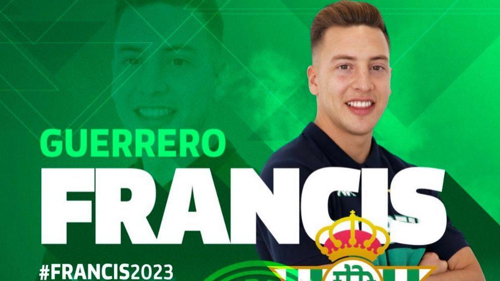 Cartel de la renovación de Francis
