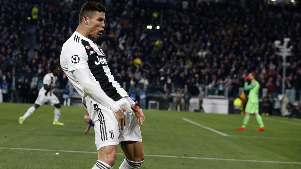 UEFA fine Ronaldo €20,000 for celebration mocking Simeone