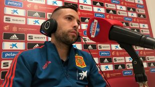 Jordi Alba spoke to  Radio MARCA.