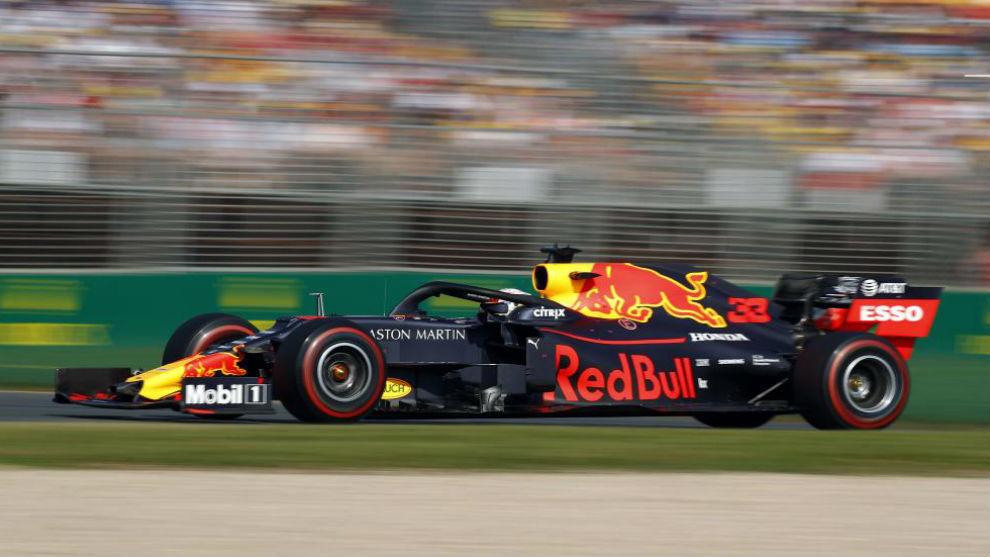 Verstappen, durante el GP de Australia, donde fue tercero.