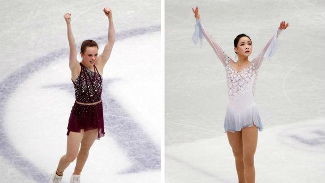 A la izquierda, Mariab Bell; a la derecha, Lim Eun Soo.