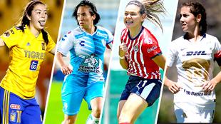 Las 10 estrellas de la Liga MX Femenil