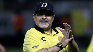 Diego Armando Maradona se sumó a la iniciativa mundial.