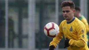 Óscar Melendo, en la Ciudad Deportiva.
