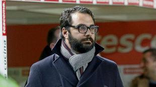 Víctor Orta, director deportivo del Leeds.