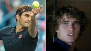 Federer y Zverev