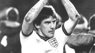 Peter Bearsley, en su etapa como internacional inglés.