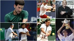 Los siete tenistas que han logrado el histórico doblete