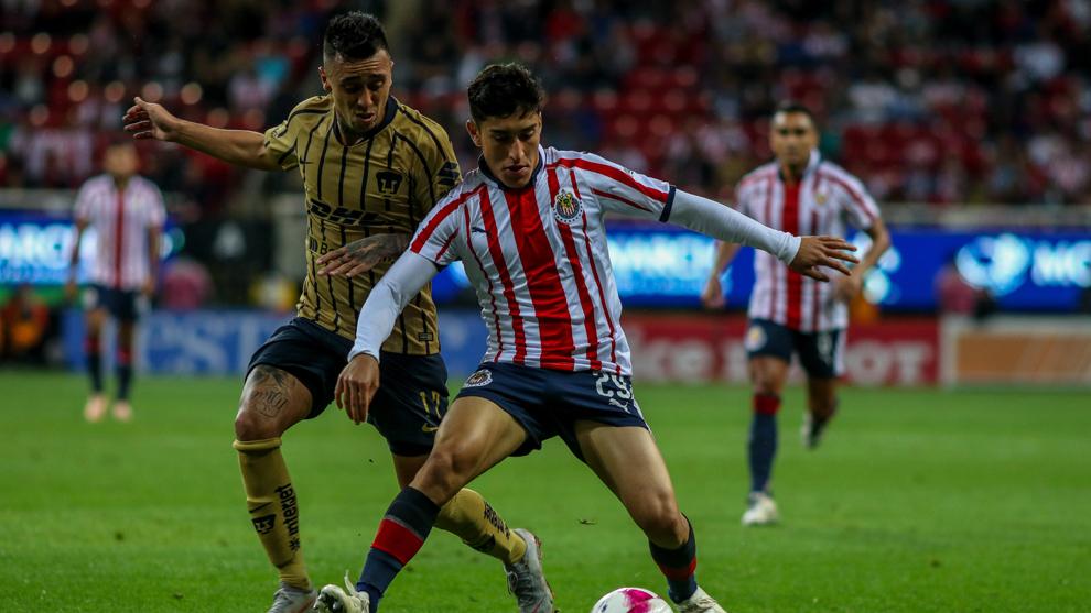 Pumas y Chivas se enfrentarán en la jornada 12 de la Liga MX.