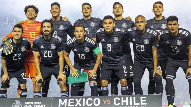 El XI de la selección mexicana