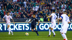 Carlos Rodríguez debutó con la selección mexicana.