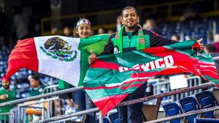 Grata presencia mexicana en San Diego.