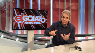 Manolo Lama, en un momento de la entrevista.