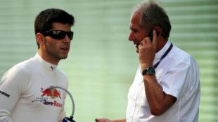 Alguersuari y Marko, en una imagen de 2009.